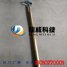 鼎威科技3m套管式量油尺铜制伸缩量油尺图片