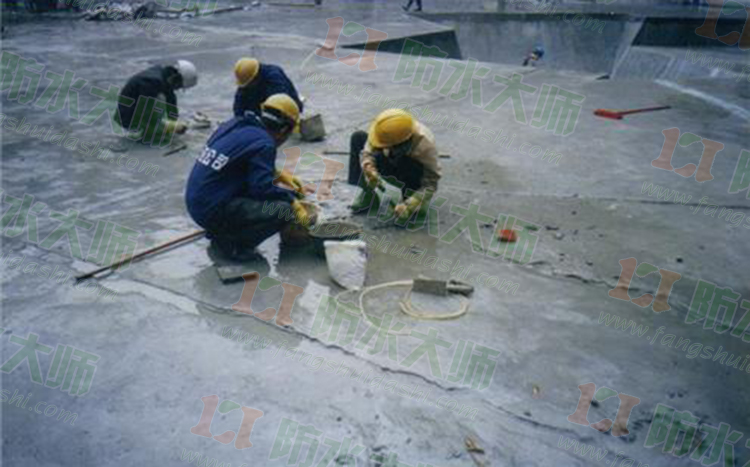 甘肃嘉峪关地下室补漏应用案例展示