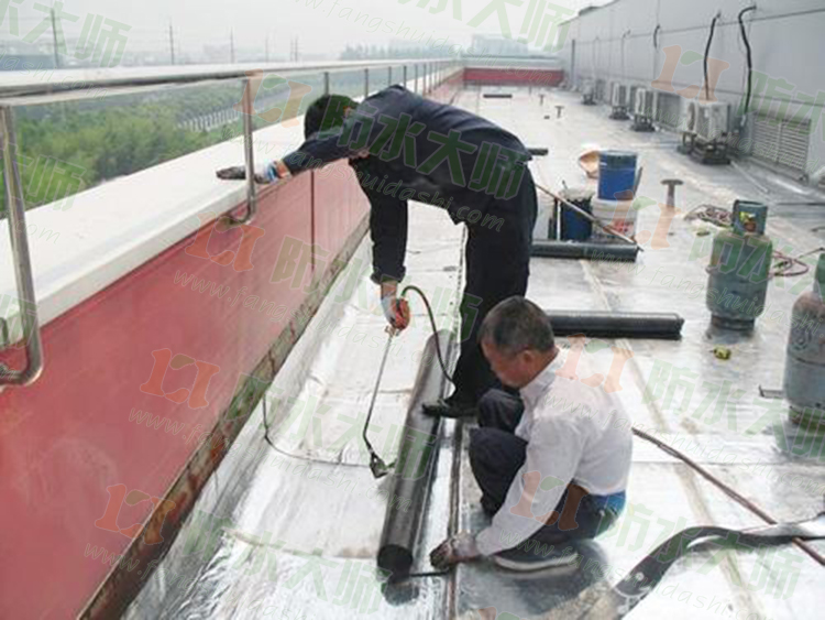 湖北新市改性沥青防水涂料供应厂家应用案例展示