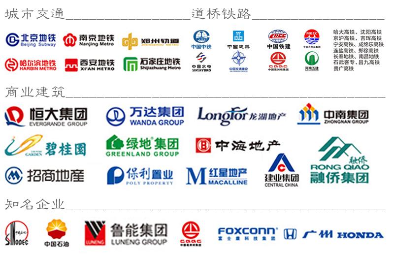 广东化州赛柏斯路面专用防水涂料合作单位展示