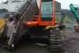 湖南长沙岩石臂厂家,挖掘机岩石臂现场安装图。