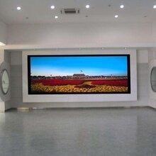 内江、资阳LED全彩电子显示屏播放效果室内大电视案列