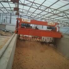 槽式翻抛机有机肥生产线有机肥翻堆机鹤壁禾盛JH6000槽式翻抛机(连续型)