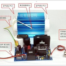 厂家直销陶瓷管20G/H臭氧发生器配件(臭氧高压电源+臭氧管)