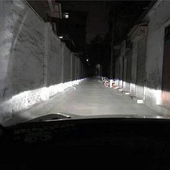 成都丰田rav4改灯大灯升级