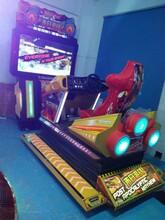 全动感赛车飞机游戏机3D超大屏空袭战斗机枪战图片