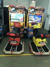 32寸42寸TT摩托賽車游戲機大型模擬機大型投幣體感游戲廳賽車游戲機圖片