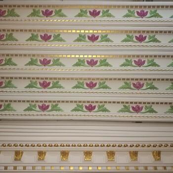 广州星洋免油漆金箔色手工石膏线条批发生产直销