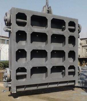 四川宜宾筠连县启闭机平面拱形滑动铸铁闸门
