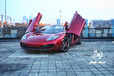 中国锐速汽车租赁公司上海租跑车跑车自驾敞篷跑车迈凯伦自驾