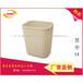 爆款方锥形塑料垃圾桶(大号)桌球室阻燃收纳桶酒店客房桶