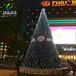 酒店商场大型圣诞树灯光节出售圣诞节圣诞树厂家