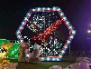 如何做好灯光节大型圣诞树等