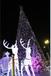 灯光节出售不同色彩设计色彩有不同的情绪表达大型圣诞树厂家