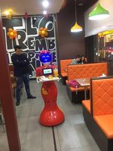 广州金灵--餐饮送餐机器人JL1032有什么功能