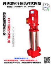 丹博消防泵3cf认证单级单吸消防泵组室外消火栓泵图片