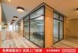天水玻璃隔断,天水高隔间,天水办公室玻璃隔断,天水双玻带百叶玻璃隔断