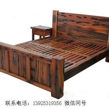 船木家具茶台,家用常规小茶台,阳台专用茶台图片