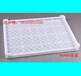供应白色网格密眼塑料冷冻盘大眼水产干货盘