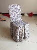 新款时尚酒店椅套桌布婚庆椅套配饰蝴蝶结丝带凳子绑带