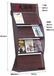 木質資料架戶型圖展架房地產展架折頁展架大廳宣傳頁架書刊報刊架