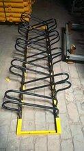 太原自行车摆放架自行车整理架电动车停放架螺旋式车架图片