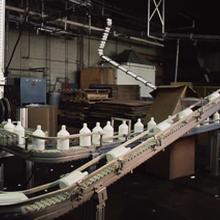 菏澤輸送線,菏澤輸送機,菏澤鏈板輸送機,電子工作平臺圖片