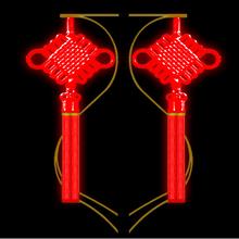 鑫艺灯饰专业中国结造型灯装饰