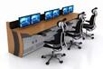 鄭州定制導播間演播室操作臺、播音臺、播音桌、監控控制臺