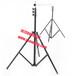 河南耀諾可移動演播室燈具支架鋁合金三角支架可升降