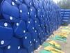 勐海县高清洁塑料桶化工双边桶二手吨桶回收