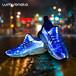 lumisonata炫酷時尚夜跑警示燈光纖鞋發光鞋廠家