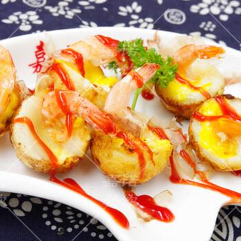虾扯蛋技术培训学习冰糖葫芦牛排杯做法来西安