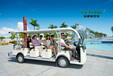 景区里一道特色的风景---绿通电动观光车