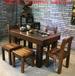 老船木茶桌椅组合大小型茶台客厅功夫茶几原木实木复古中式可定做