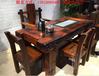 老船木茶桌椅组合实木茶桌家具中式功夫茶几泡茶台户外阳台小型
