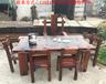 老船木茶桌椅组合功夫茶台桌实木茶几泡茶桌中式明清仿古家具茶艺