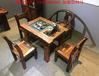 老船木茶桌船木茶桌椅组合实木中式仿古家具户外阳台功夫茶台茶几
