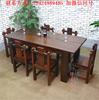 老船木茶桌椅组合仿古中式家具实木功夫家具原生态泡茶桌