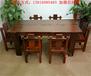 老船木实木家具中式船木功夫茶几茶桌茶台特价客厅高档茶桌椅组合