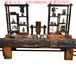 老船木海螺孔龙骨茶桌椅组合实木茶几茶台功夫茶艺桌船木仿古家具