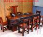 老船木茶桌椅组合龙骨实木仿古家具大型功夫喝泡茶台茶海茶几