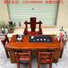 老船木茶桌椅组合船木茶桌茶台茶几客厅中式功夫茶桌沉船木泡茶台