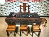 老船木茶桌椅组合实木茶桌简约现代客厅泡茶台阳台户外功夫小茶几