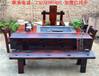 中式老船木茶桌椅组合特价实木茶几茶道桌子泡茶桌茶艺桌功夫茶台