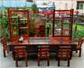仿古船木茶桌阳台老船木茶桌椅组合中式功夫实木休闲多功能茶台
