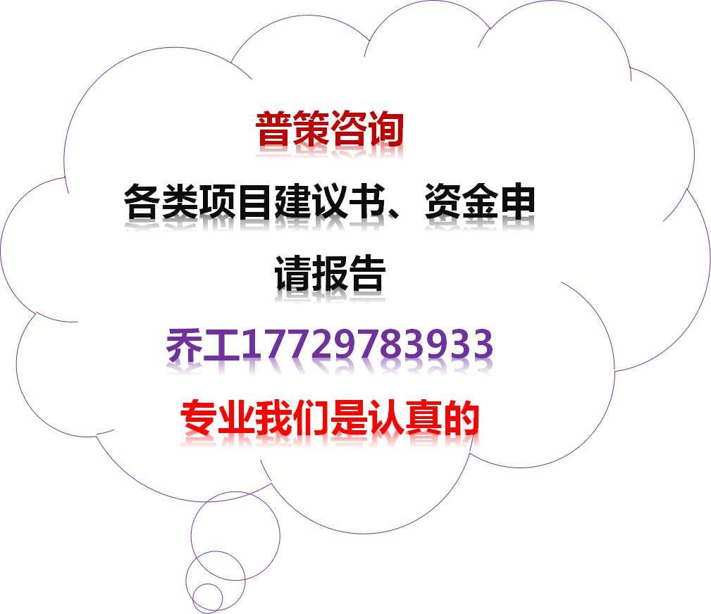 金阳县项目可行性报告编写的公司