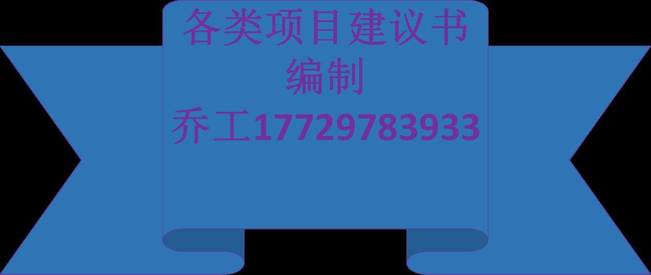 延寿县项目可行性研究报告编写的公司