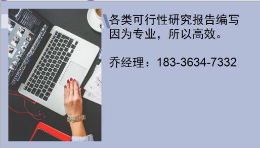 吴中专业编写发改委立项报告的公司√饮料厂