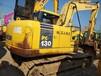 小松130二手挖掘机低价出售纯土方